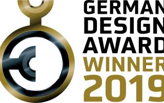 Logo des German Design Award 2019