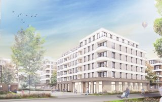 Visualisierung, Seniorenresidenz Duisburg