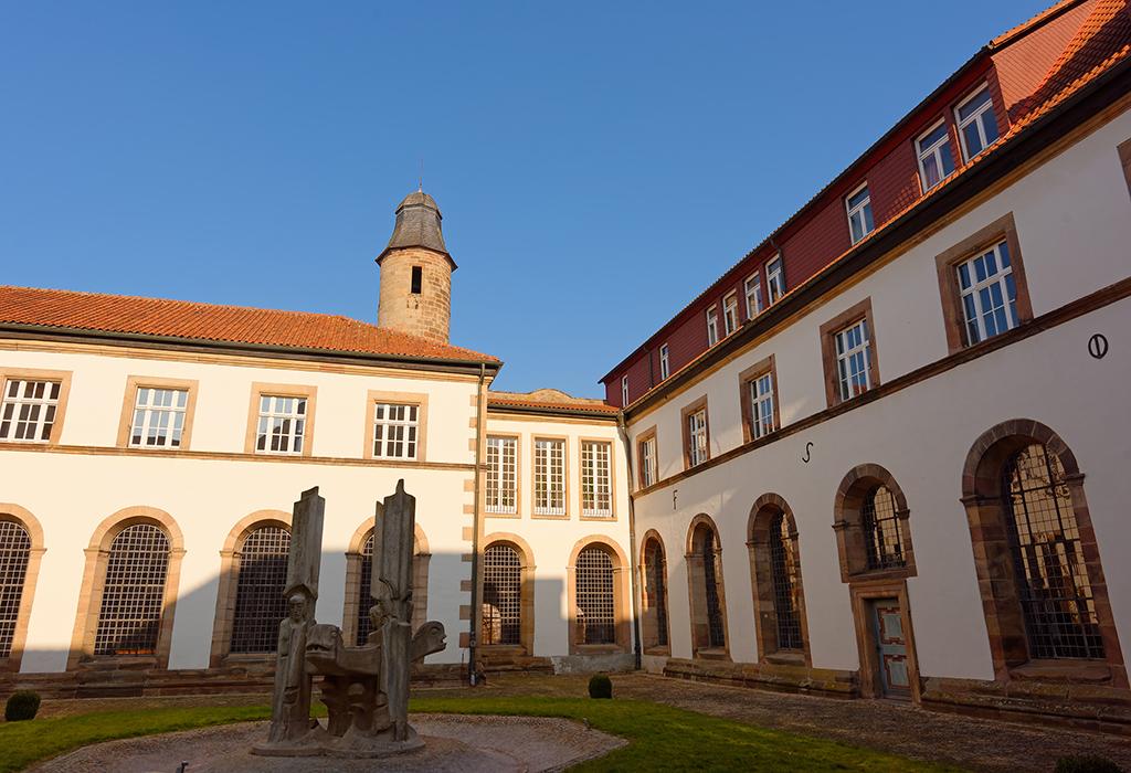 Innenhof, Katholische Landvolkshochschule Hardehausen ©Jan Braun