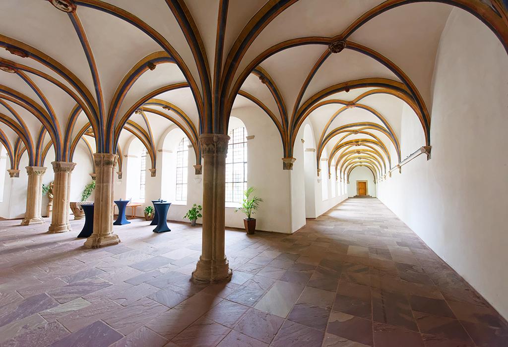 Flure, Katholische Landvolkshochschule Hardehausen ©Jan Braun