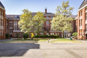 Innenhof, Herzberg-Campus, ©Trockland