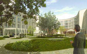 Visualisierung, Anbau, Herzberg-Campus, ©Trockland