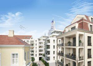 Visualisierung, Quartier III, Dresden, ©archlab, Dr.-Ing. Kalusche