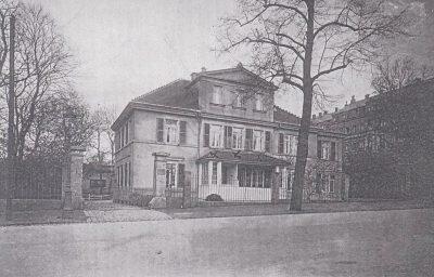 Behr´sche Villa Historische Aufnahme