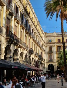 Plaza Real Barrio Gotico