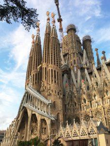 La Sagrada Familia Gaudi