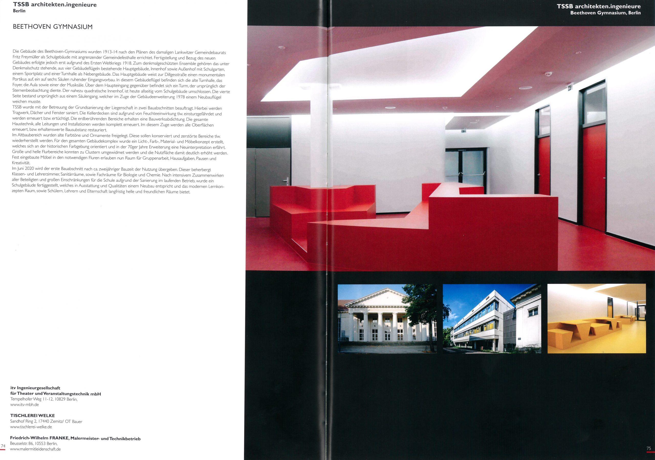 Publikation Architektur Berlin 2020